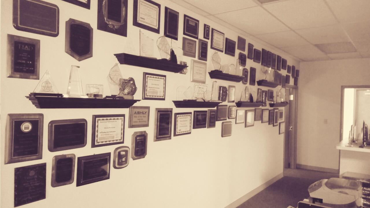 Award-Wall