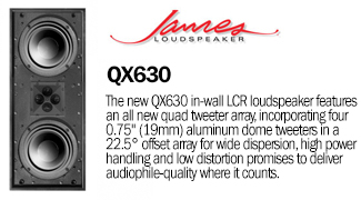 James Loudspeaker QX630